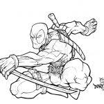 Please contact us if you think we are infringing copyright of. Deadpool Coloring Pages Coloring Pages For Kids