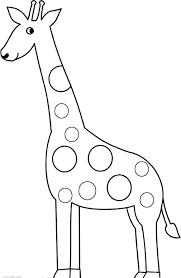 Giraffe Printable Template Giraffe Template Printable Parkspfe Org