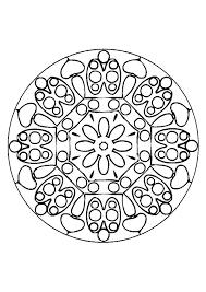 Kleurplaat Mandala Kleurplaten 5093 Kleurplaten