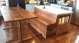 Kitchen Table With Bench Black Dining Inside Types Of Sets Type