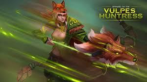 apparel of the vulpes huntress windranger set dota 2 workshop