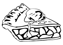 Small Picture Coloring page apple pie img 10256