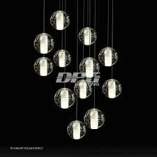 modern designer stair led acrylic