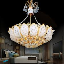 lotus ceiling pendant lights modern