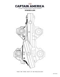 Captain America Winter Soldier Coloring Pages