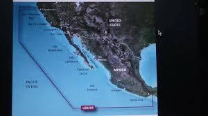 G2 Vision Chart Bluechart G2 Vision Vus021r Marine Map California Mexico For Garmin Gps