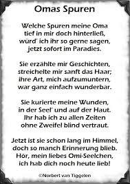 Omas Spuren Welche Spuren Meine Oma Gedichte Von Norbert Van