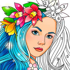 Coloring by numbers for adults, this is a relaxing app for relieving stress in everyday life. Color Fun Color By Number By Magic Arts