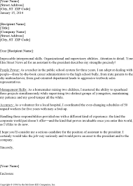 executive assistant cover letters administrative assistant cover letter examples template