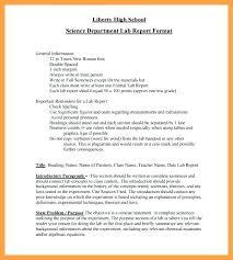Formal Science Lab Report Template Sample 548032606676 Formal