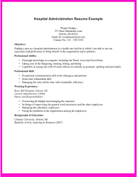 Example Healthcare Operations Manager Resume Free Sample Resume
