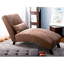 chaise chairs for living room. merax fabric chaise lounge chair leisure sofa living room sleeper bed (brown) chairs for