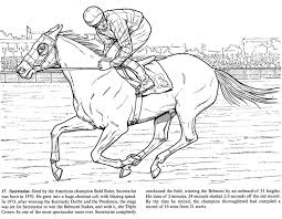 Small Picture Race Horse Coloring Pages To Print Coloring Pages