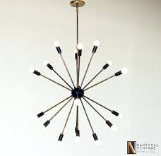 black sputnik chandelier black and patina brass sputnik chandelier by black sputnik chandelier uk