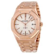 men s watches audemars piguet royal oak silver dial men s automatic watch