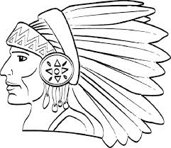 Free Printable Native American Coloring Pages At Getdrawingscom
