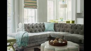 gray velvet sectional. Contemporary Sectional Gray Velvet Sectional Sofa For Living Room Intended P