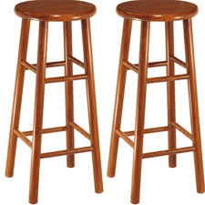 best bar stools. Best Budget: Winsome Wood Beveled Seat Bar Stool In Cherry Stools T