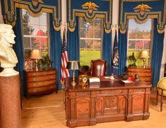 oval office rug. Replica Presidential Oval Office Desk, As Seen With President John F. Kennedy - Warner Rug