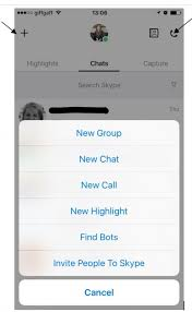 this will pull up your most recent call list which will include skype to skype calls and skype landline or mobile phone calls