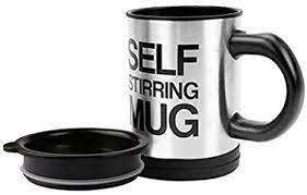 This slot helps you to pass a straw … Amazon Com Self Stirring Coffee Mug Stainless Steel Coffee Mug With Lid Self Mixing Spinning Home Office Travel Mixer Cup 12 16 Oz Black Kitchen Dining