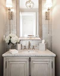 Powder Room Decor Such An Elegant Powder Room By Castlwood Custom Builders