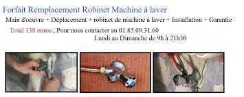 Robinet Machine à Laver Paris