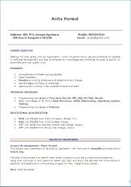 Action Verbs For Resume Resume Example