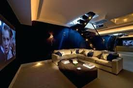 home theater lighting ideas. home theatre design ideas oversize furniture and art furnish a serene malibu california screening room designed theater lighting n