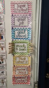 3rd Grade Behavior Chart Classroom Behavior Chart Mrs Thomas Second And Third Grade