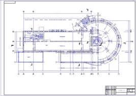 Архитектура страница Чертежи курсовые работы дипломные  Торговый комплекс Вега чертеж
