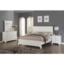 white bedroom furniture. Interesting Furniture Laveno 012 White Wood Bedroom Furniture Set Includes King Bed Dresser  Mirror And And H