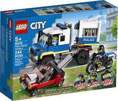 Đồ chơi LEGO City Xe Cảnh Sát Vận Chuyển Tội Phạm 60276 | LEGO Official  Store