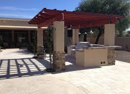 Complete Outdoor Kitchen Complete Outdoor Kitchen Scottsdale Az Desert Reflections Companies