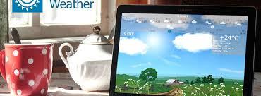 great weather app live wallpaper widget