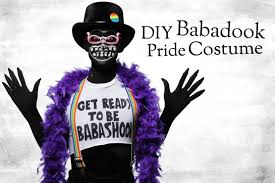 babadook meme costume for pride