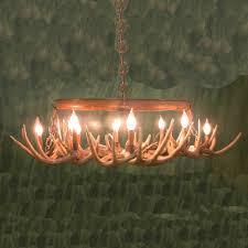 good deer antler chandelier design