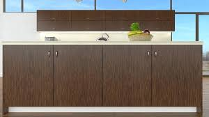 wood veneer cabinet doors dark walnut vs solid