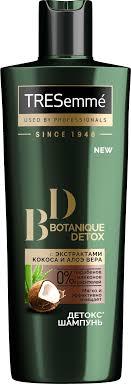 <b>TRESemmé Botanique</b> Detox <b>шампунь</b> без силиконов Детокс 400 мл