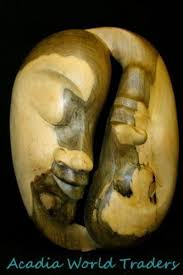 balinese mask yin yang twin sculpture wood carving bali wall art tresna on wooden yin yang wall art with balinese mask yin yang twin sculpture wood carving bali wall art