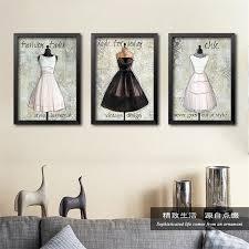 vintage fashion wall decor designs