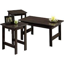 piece coffee table side tables set