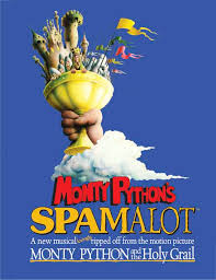 eric idle to play in spamalot