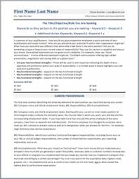 10 Executive Resume Templates Free Samples Examples Executive