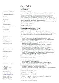 Volunteer Work On Resume Sample Best Of Volunteer Work On Resume Daxnetme