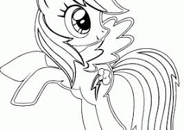 Small Picture Rainbow Dash Coloring Pages Coloring4Freecom