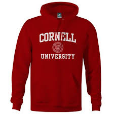 york university hoodie. cornell crest hooded sweatshirt (red) york university hoodie