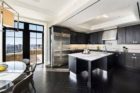 stone kitchen backsplash dark cabinets. Plain Dark Dark Cabinet Kitchen With Calacatta Classic Marble Counters And White  Subway Tile Backsplash For Stone Kitchen Backsplash Cabinets I