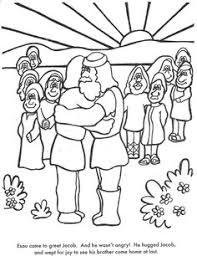 Small Picture Genesis 1 verse 1 Coloring Page Homeschool preschool