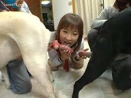 Japanese suck dog girl
